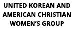 United Korean and American Christian Women's Group logo